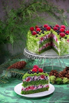Tort Leśny Mech