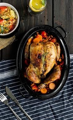 Idealny pieczony kurczak
