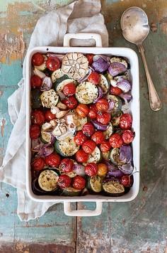 Zapiekane warzywa sezonowe