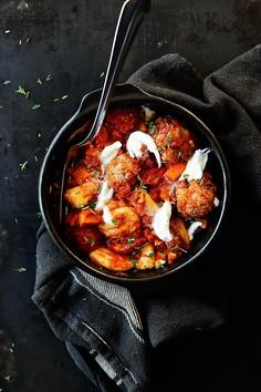 Gnocchi z pulpetami w pomidorach