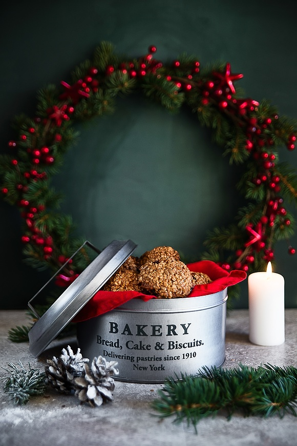Bezglutenowe ciasteczka dla Świętego Mikołaja