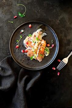 Orientalna ceviche z łososia