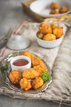 Tod Man Khao Pod - racuszki kukurydziane z chili