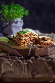 Meksykańska quesadilla z mięsem mielonym