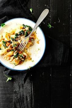 Gnocchi z ragout z kurczaka