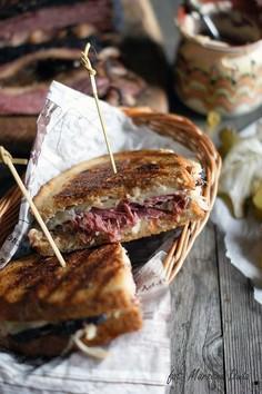 Kanapka z pastrami -  Reuben Sandwich
