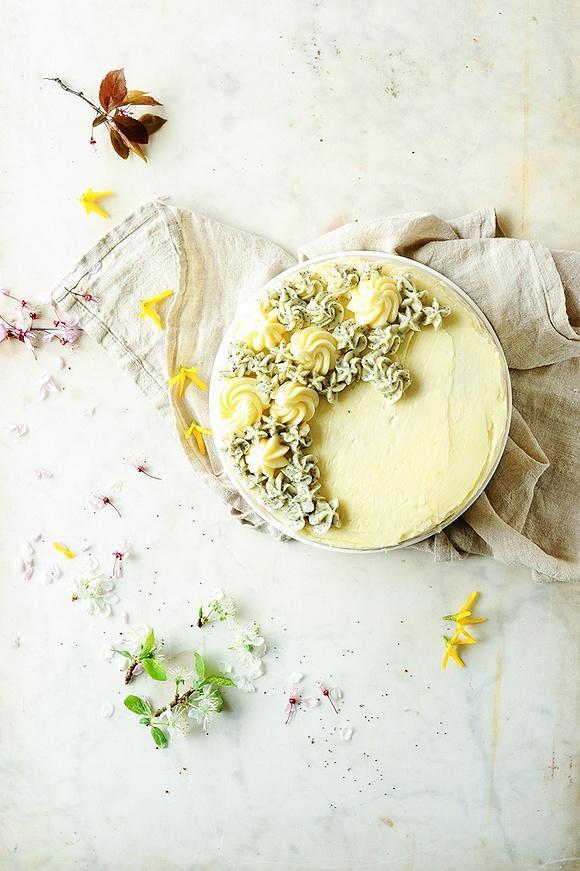 Wiosenny torcik cytrynowy
