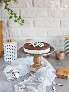 Wegańskie ciasto Bounty