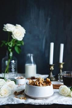 Banalnie prosta granola z płatków jaglanych
