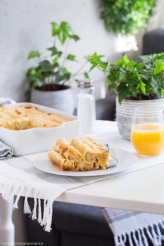 Cannelloni z dorszem