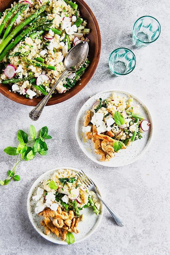 Lekki i zdrowy obiad: bulgur z warzywami
