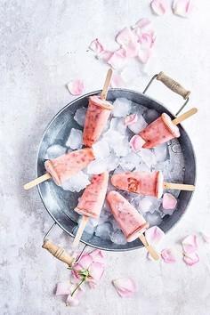 Domowe lody jogurtowo-brzoskwiniowe (bez jajek i cukru)