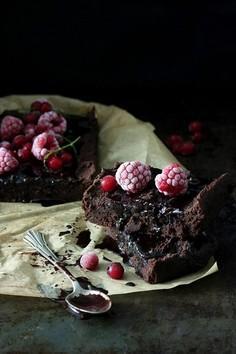 Brownie z fasoli wegańskie i bezglutenowe