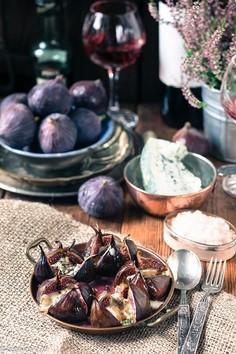 Zapiekane figi z serem Lazur