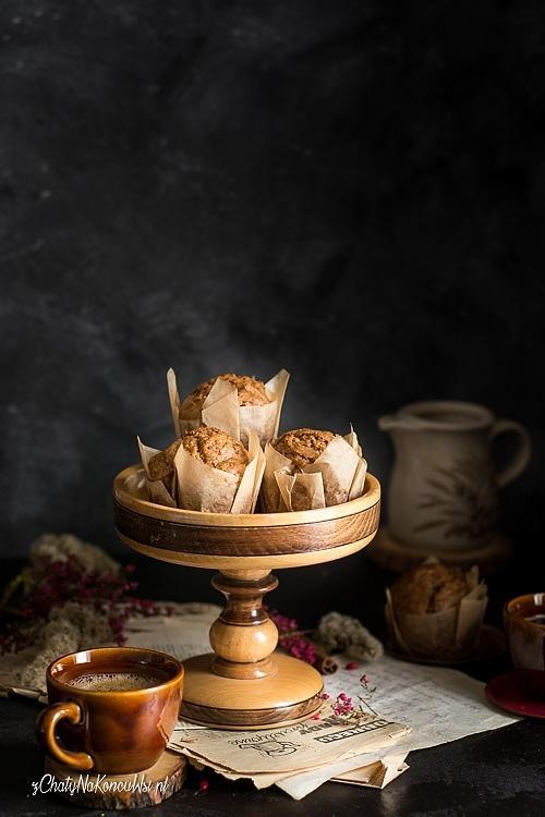 Dyniowe muffinki piernikowe