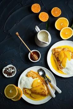 Crepes suzette - francuskie naleśniki z pomarańczami