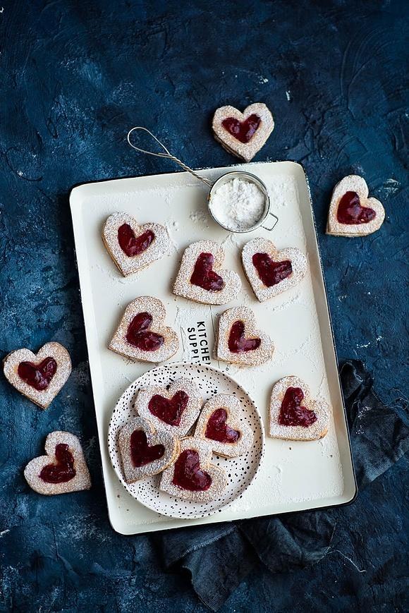 Ciasteczka w kształcie serc