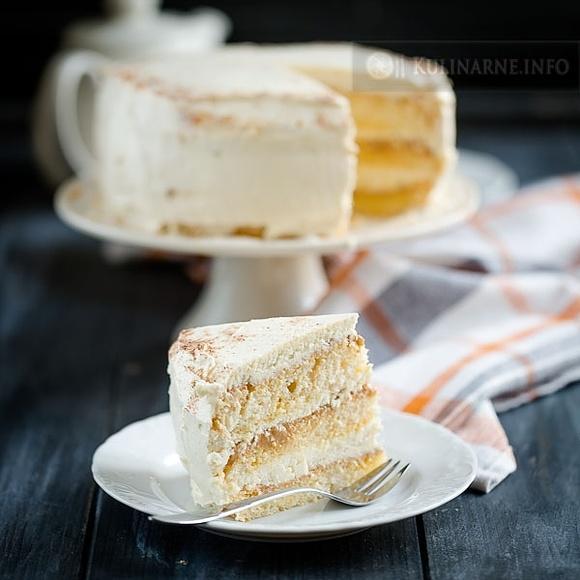 Tort z mąką gofio