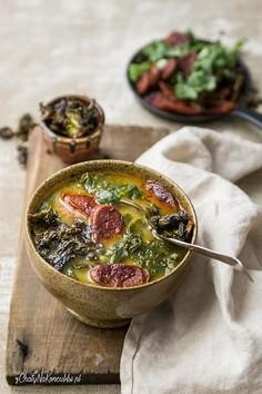 Portugalska zupa z jarmużem