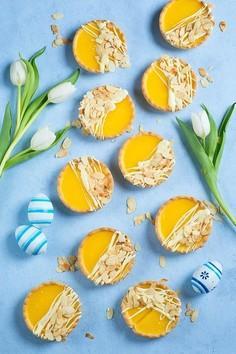 WIelkanocne tartaletki z lemon curd
