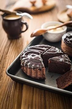 Babka majonezowa czekoladowa