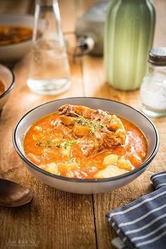 Klasyczna zupa ogonowa
