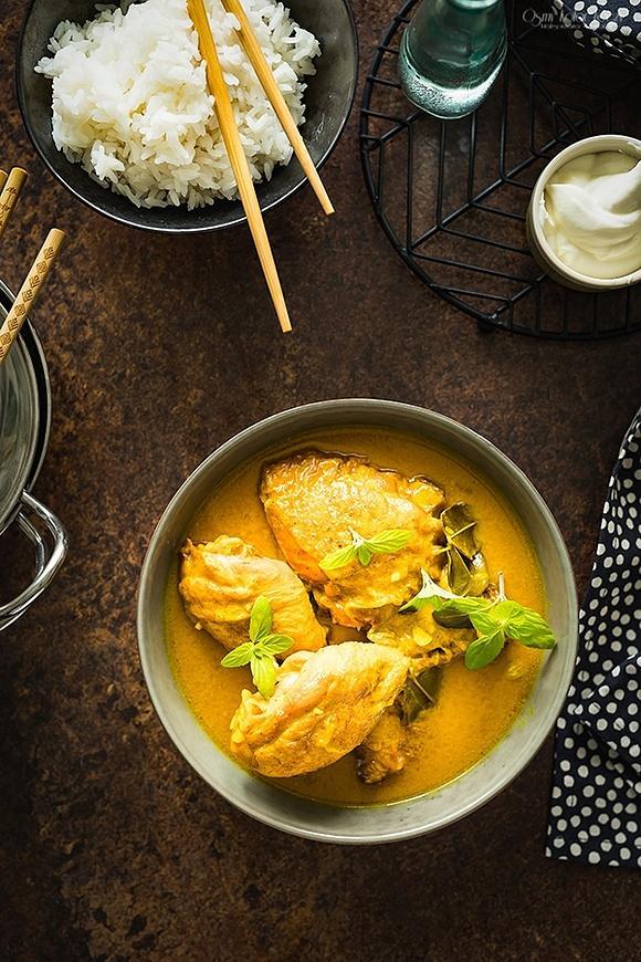 Curry z kurczaka – malezyjskie
