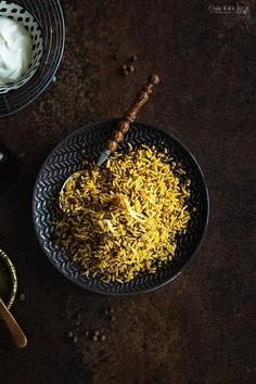 Mejadra – arabski ryż z soczewicą i cebulą