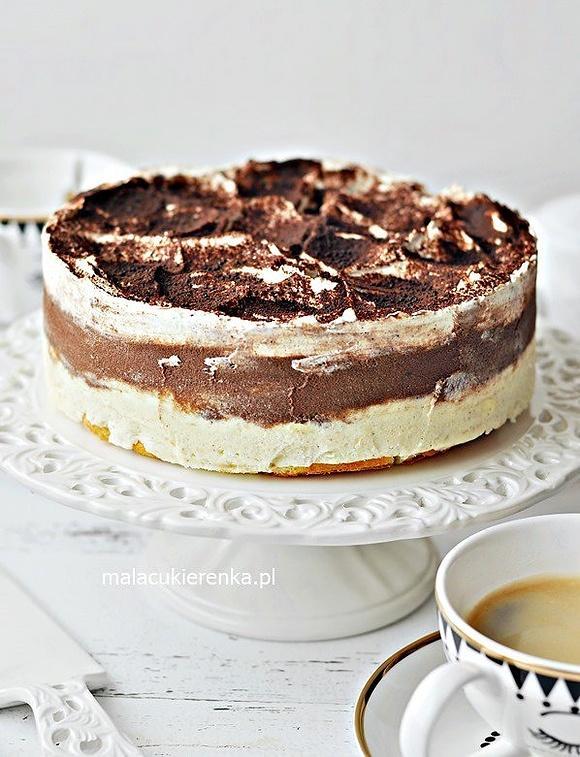 Ciasto torcik bananowe niebo bez pieczenia
