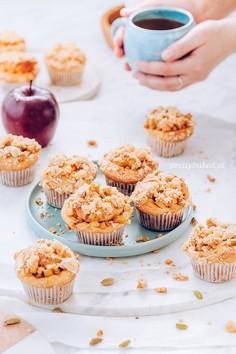 Muffinki struclowe z kruszonką
