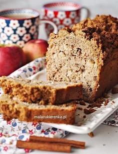 Najprostsze wilgotne ciasto z jabłkami i kruszonką