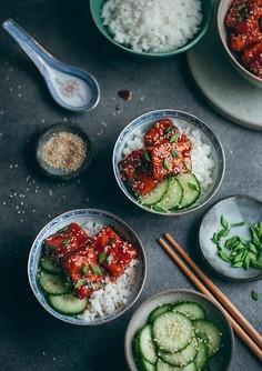 Tofu po koreańsku