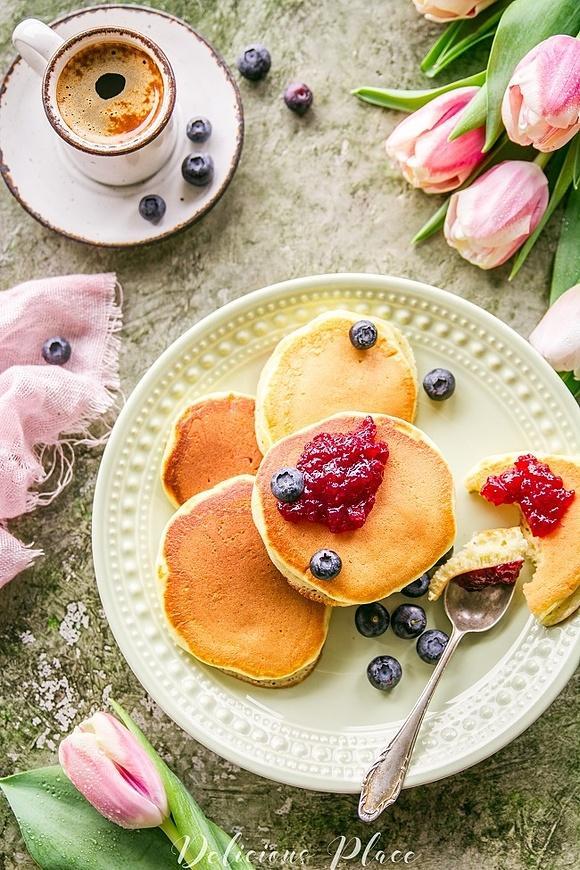 Pancakes majonezowe